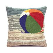 Liora Manne Frontporch Life's A Beach Pillow - 18""