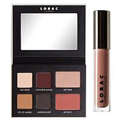 LORAC Downtown L.A. Eyeshadow Palette with Lip Gloss