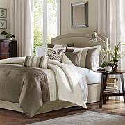 Madison Park Amherst Comforter Set King Natural