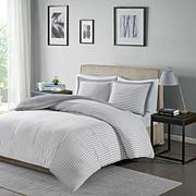 Madison Park Essentials Hayden Stripe Duvet Cover Set