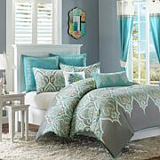 Madison Park Nisha Teal Comforter Set - King/Cal King