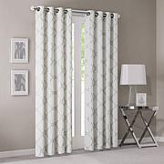 Madison Park Ivory Saratoga Window Curtain