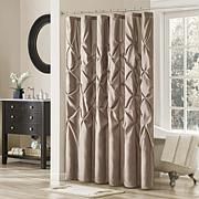 Madison Park Vivian Shower Curtain - Mushroom