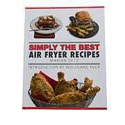 "Marian Getz ""Simply the Best Air Fryer Recipes"" Cookbook"