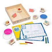 Melissa & Doug Blues Clues & You! Wooden Handle Stamps Activity Set
