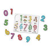 Melissa & Doug Classic Peg Puzzle Bundle