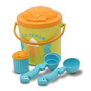 Melissa & Doug Speck Seahorse Sand Play Ice Cream Set