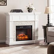 Merrimack Corner Convertible Infrared Fireplace