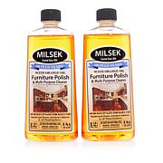 Milsek Lemon Oil Wood Cleaner and Polish 2-pack