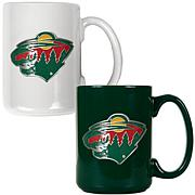 Minnesota Wild 2pc Coffee Mug Set