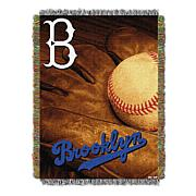 MLB Vintage Throw - Dodgers
