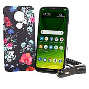 "Motorola Moto G7 6.2"" HD+ Tracfone with 1500 Min/Text/Data"