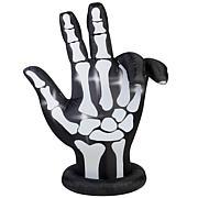National Tree Company 7' Inflatable Animated Skeleton Hand w/ Lights