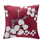 "Natori Cherry Blossom Square Pillow - 18"" x 18"""