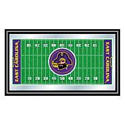 NCAA Framed Football Field Mirror - East Carolina