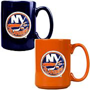 New York Islanders 2pc Coffee Mug Set
