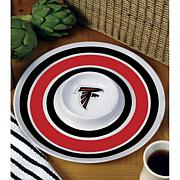 NFL Melamine Chip and Dip Serving Tray - Falcons