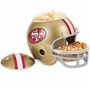 NFL Plastic Snack Helmet - 49ers
