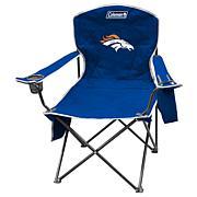 NFL Quad Chair with Armrest Cooler - Broncos