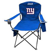 NFL Quad Chair with Armrest Cooler - Giants