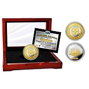 NFL Steelers Super Bowl XLIII Two-Tone Mint Coin