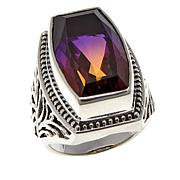 Nicky Butler 10.7ctw Purple Chrome Quartz Triplet Bold Ring