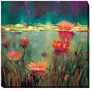 """Nightfall"" Gallery-Wrapped Giclee Canvas Wall Art"