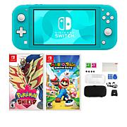 Nintendo Switch Lite with Pokemon Game and Accessories