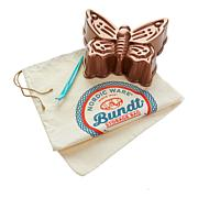 Nordic Ware Butterfly Bundt Cake Pan and Bag Set