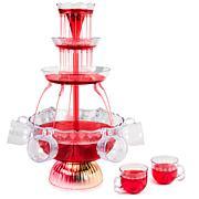 Nostalgia 3-Tier Lighted Party Fountain