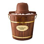 Nostalgia 4 qt. Wooden Bucket Electric Ice Cream Maker