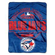 "Official MLB 45""x60"" Raschel Throw by Northwest"