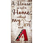 Officially LicensedMLB A House is Not a Home Sign