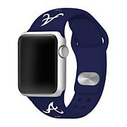 Officially Licensed MLB Silicone Apple Watchband - Blue