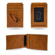 Officially Licensed NFL Laser-Engraved Front Pocket Wallet