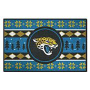 Officially Licensed NFL Holiday Sweater Starter Mat