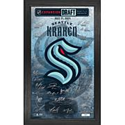 Officially Licensed NHL Seattle 2021 Expansion Draft Signature Frame
