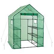 Ogrow Deluxe WALK-IN 2-Tier 8 Shelf Portable Lawn & Garden Greenhouse