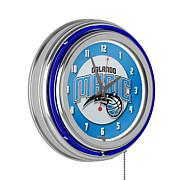 Orlando Magic Double Ring Neon Clock