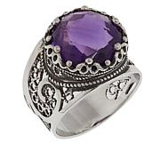 Ottoman Silver Jewelry Collection 5.5ct African Amethyst Ring