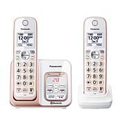 Panasonic DECT 6.0 2pk Link2Cell Cordless Phones
