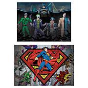 Paper House DC Comics Heroes Puzzle Set