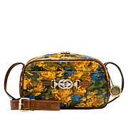 Patricia Nash Cerrisi Oval Leather Crossbody Bag