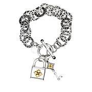 Patricia Nash Lock-and-Key Toggle Bracelet