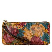 Patricia Nash Vercelli Leather Wallet Zip-Top Wristlet