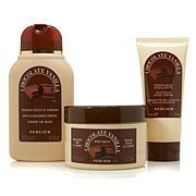 Perlier Chocolate Vanilla 3-piece Kit
