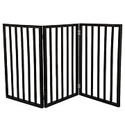 PETMAKER Freestanding Wooden Pet Gate