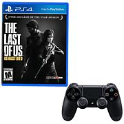 "PlayStation 4 DualShock 4 Controller with ""The Last of Us: Remastered"""