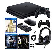 Playstation 4 Pro 1TB Console with 3 Games and Accessories Kit