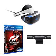 "PlayStation Virtual Reality Headset w/""Gran Turismo"" Game & Camera"